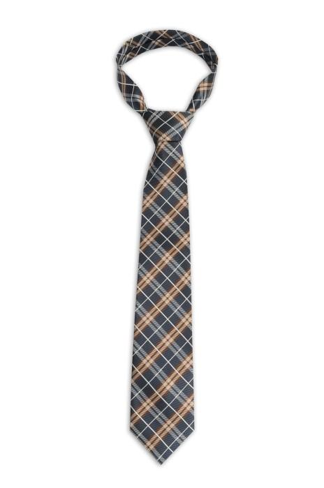 BT095 訂做韓版商務領帶 格紋領帶  領帶供應商