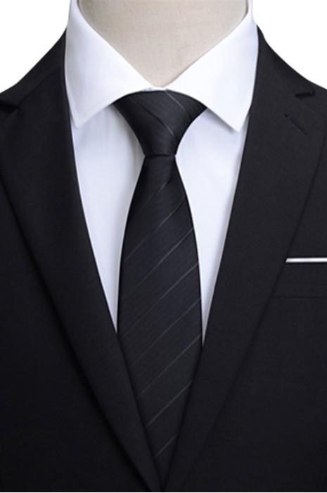 SKBT115 訂製正裝領帶  設計提拉拉鏈領帶 領帶中心
