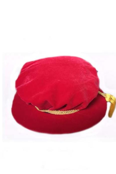 SKMB08 設計太陽帽 成人畢業禮頒獎禮儀帽子 美國碩士帽 導師帽 博士帽 校長帽 畢業帽製衣廠