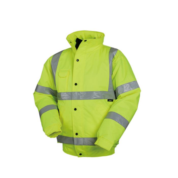 SKRC002 訂購反光風褸 設計可脫卸工作服  製造安全道路施工外套  反光外套製造商  反光外套價格