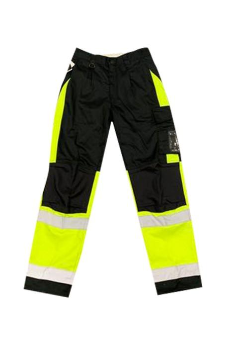 SKRC012 制定反光褲 路政 工程 撞色反光褲 聚酯纖維80% 棉20% 反光褲供應商 BS EN 343 class 3:3  螢光
