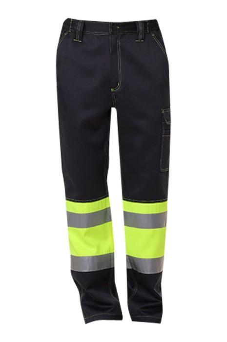SKRC014 製作反光褲 道路 工程 工業 耐磨反光工作裤 反光褲供應商