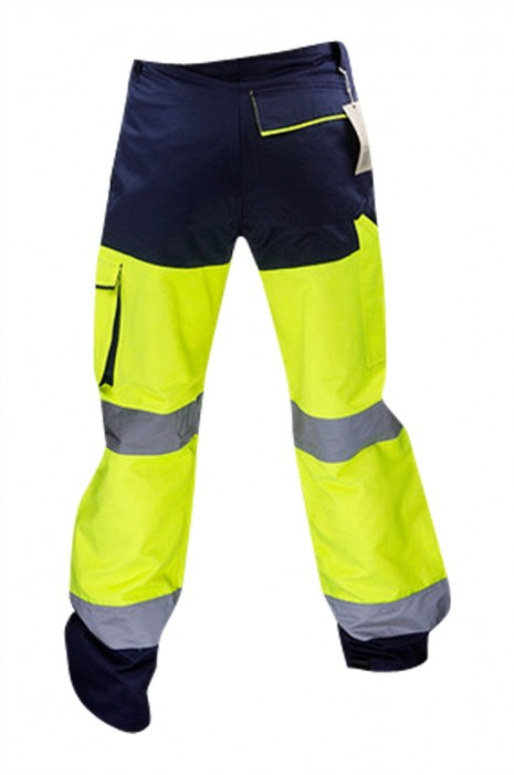 SKRC016 自訂反光褲 工業制服褲 多袋 防風 衝鋒衣服工作服 反光褲供應商 EN ISO 20471 反光褲
