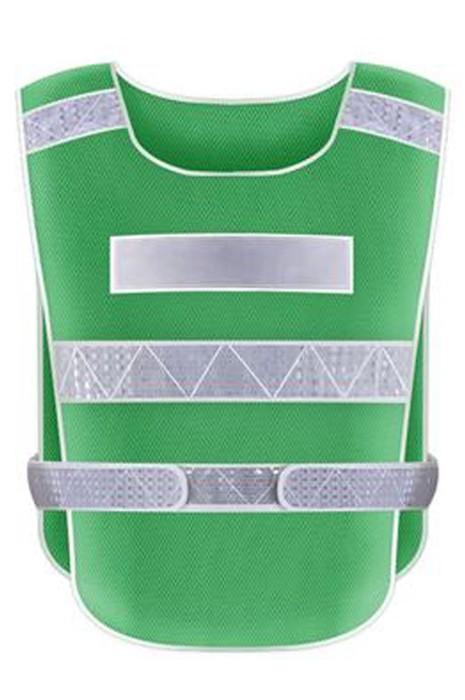 SKVT020 大量訂製反光背心  訂製紮鐵工安全反光衣 設計魔術貼調節大小反光背心 反光背心供應商