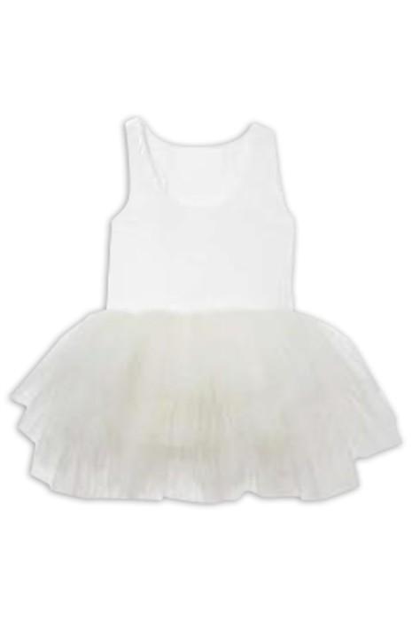 SKCC006 製造女童芭蕾舞裙 設計淨色蓬蓬裙舞蹈裙 芭蕾舞裙中心