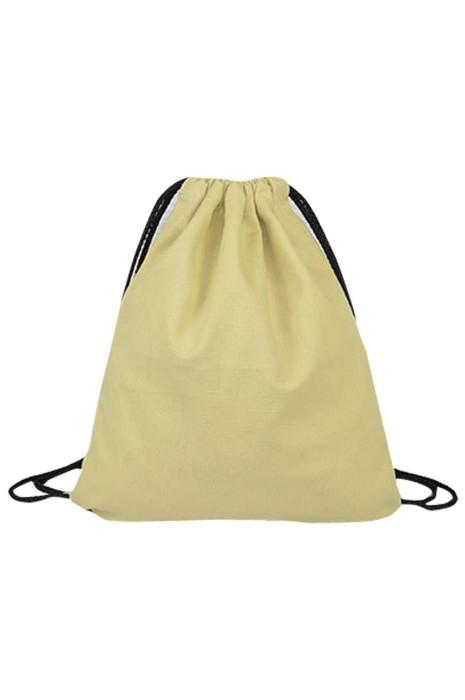 SKRB005  製作束口袋 抽繩雙肩包 純色帆布背包 12安帆布 棉麻布袋 拉繩袋  35*40cm