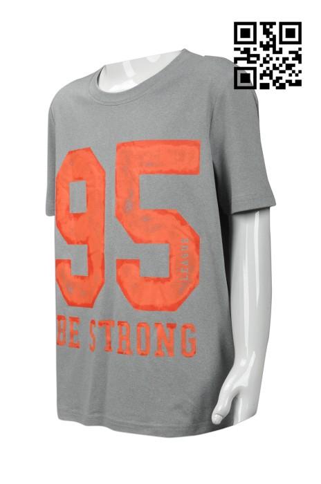 FA328 設計童裝T恤款式    訂造LOGOT恤款式    自製度身T恤款式   T恤製衣廠