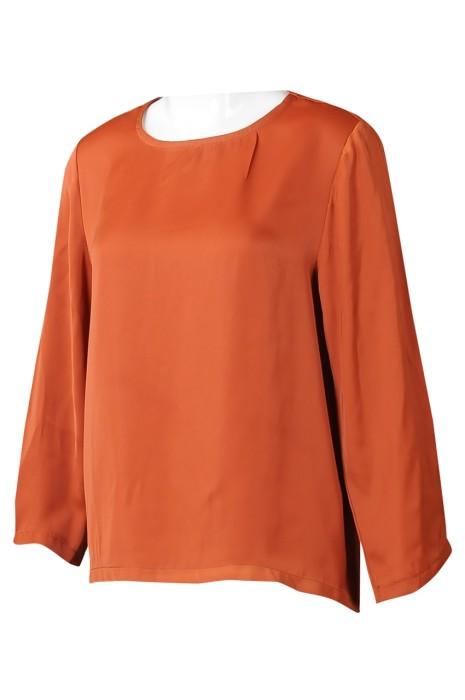 FA368 訂製女裝長袖時裝款式 個性化寬袖淨色時裝款式 時裝款式製服公司 寬鬆