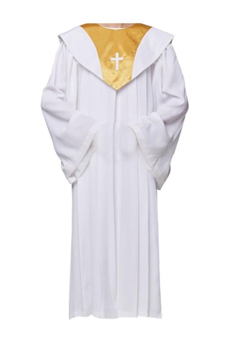 SKPT029 設計聖服 基督教服飾 天主教神父祭衣 聖衣 聖袍 唱詩班服 受浸洗 受浸禮 詩班服 聖詩服 受洗服 聖詩袍製造商