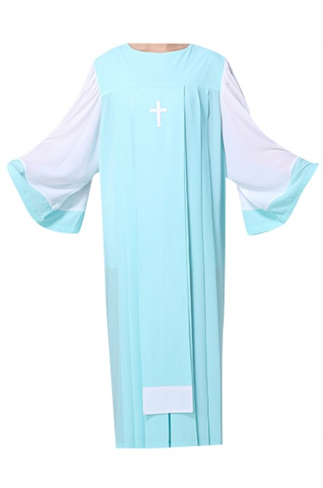SKPT044  大量訂造聖詩袍 基督教 聖衣 聖袍 聖詩服 唱詩服 詩班服 詩袍 長袖聖服 聖詩袍專門店