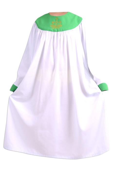 SKPT046 供應聖服  基督教服飾 兒童聖袍 唱詩班服 詩班服 聖詩服 受洗服 聖詩袍製造商