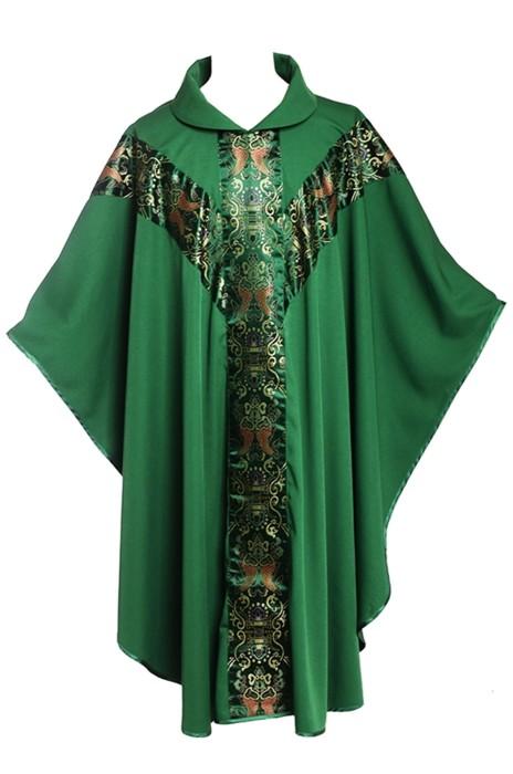 SKPT055  訂做天主教 聖公會神父 主教 四色祭披 天主教服裝 神父服裝  肯特神職人員長袍 教堂 天主教 宗教禮儀 聖詩袍供應商