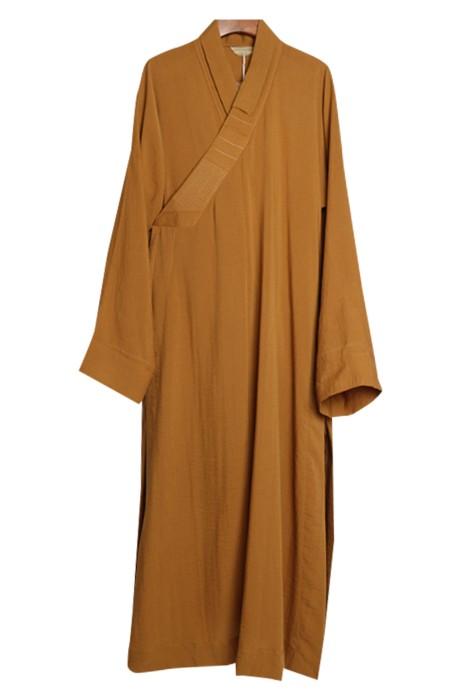 SKPT057  訂做長褂僧袍和尚   服裝大褂   夏天棉麻舒適僧衣   男女款衣  正統僧袍    東正教和尚長袍