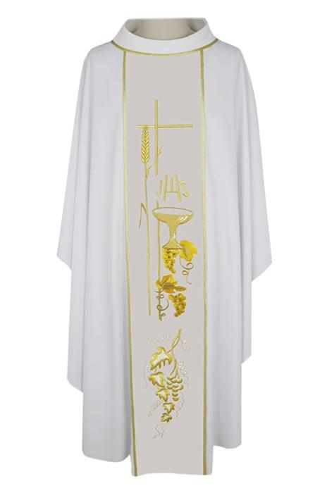 SKPT058  訂製天主教長袍   聖公會主教   四色祭披   天主教服裝   神父服裝   羅馬天主教神父服裝
