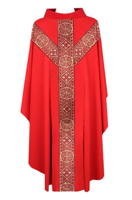 SKPT059  設計天主教祭衣   聖公會神父主教   四色祭披   天主教服裝   神父服裝   羅馬天主教神父服裝