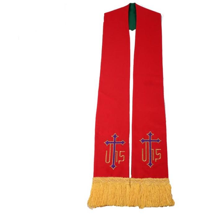 SKBT001  訂造來樣聖帶款式   自訂教會聖帶款式  肩帶  受洗禮帶  製作牧師聖帶款式   聖帶專門店
