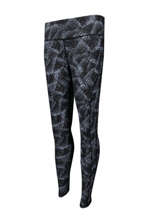 U308 團體訂購緊身長運動褲 訂製運動瑜伽褲 熱升華效果   彈力緊身褲 澳洲 ijasportswear 運動褲生產商