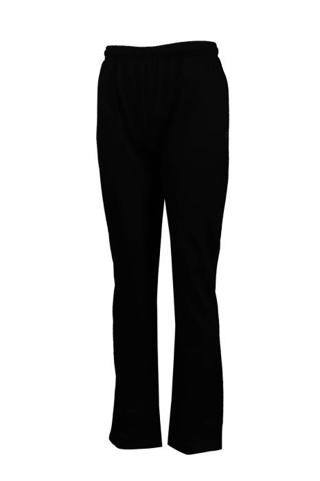 U322 訂製黑色運動褲 橡皮筋運動褲 長運動褲專門店