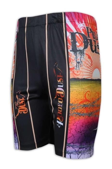 U343 來樣訂做運動褲 熱昇華 單車褲 馬術短褲 Sally 澳大利亞 印花 logo 運動褲生產商