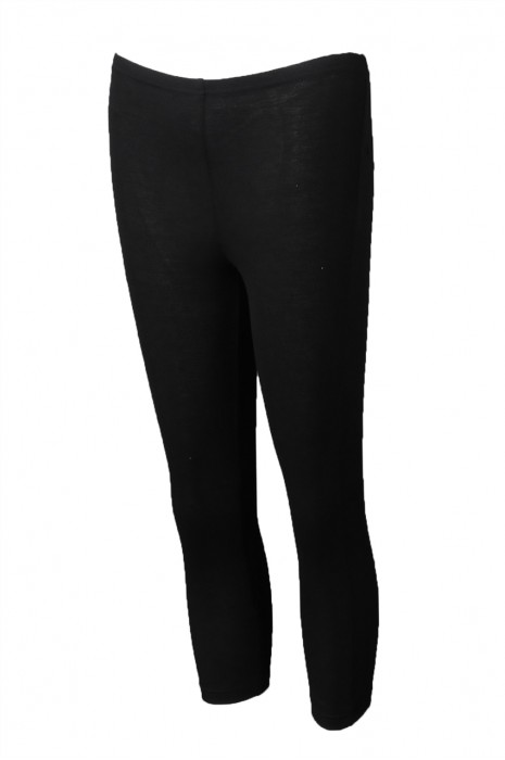 U348 訂製女裝運動褲 製造黑色緊身運動褲 運動褲供應商