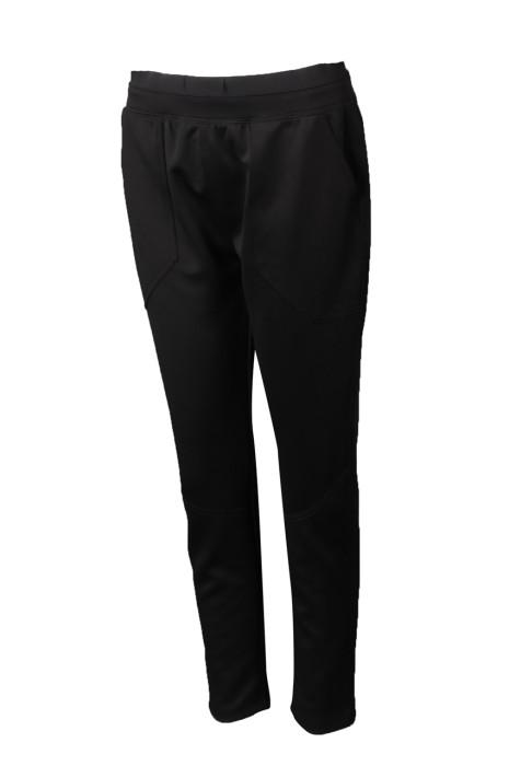 U349 訂製女裝運動褲 設計修身運動褲 運動褲專門店 黑色