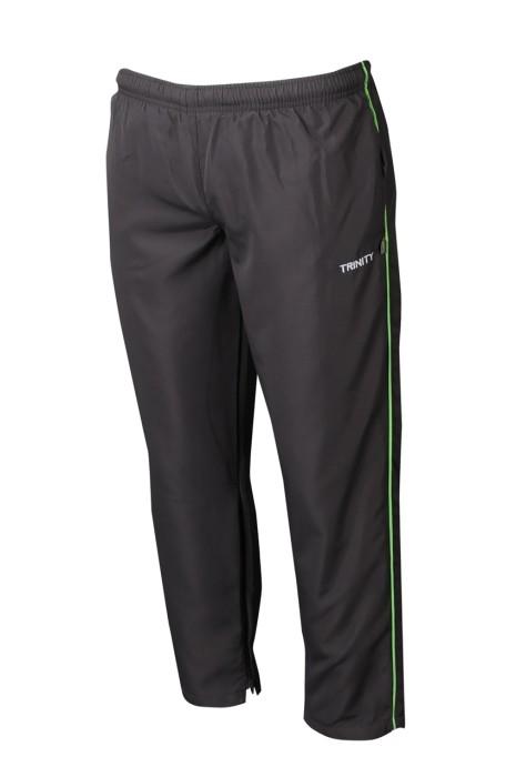 U351 製造男裝長褲運動褲 設計黑色運動褲 運動褲專營