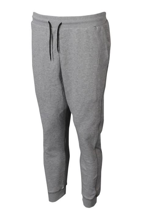 U352 來樣訂製男裝運動褲 設計抽繩運動褲 運動褲供應商