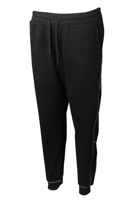 U353 製造男裝長跑運動褲 訂製束腳運動褲 運動褲專門店    大 尺碼 運動 褲