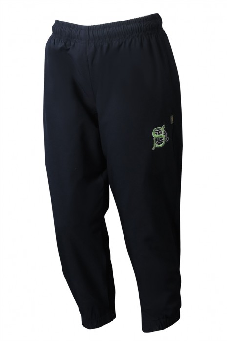 U363 製造童裝運動長褲  設計橡筋褲頭抽繩拉鏈褲腳運動褲 運動褲中心   大 尺碼 運動 褲