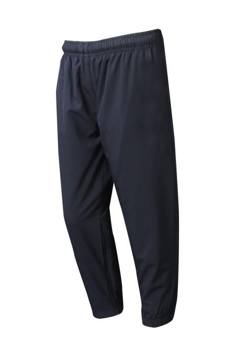 U364  訂購兒童運動褲   設計橡筋褲 褲腳開拉鍊款    運動褲中心