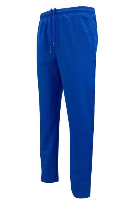 U378  訂做深藍色運動褲     設計橡筋褲頭運動褲   可跑步    運動褲專營店