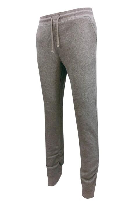 U380    設計純色窄褲腳   訂做橡筋褲頭運動褲   時尚運動褲    運動褲工廠