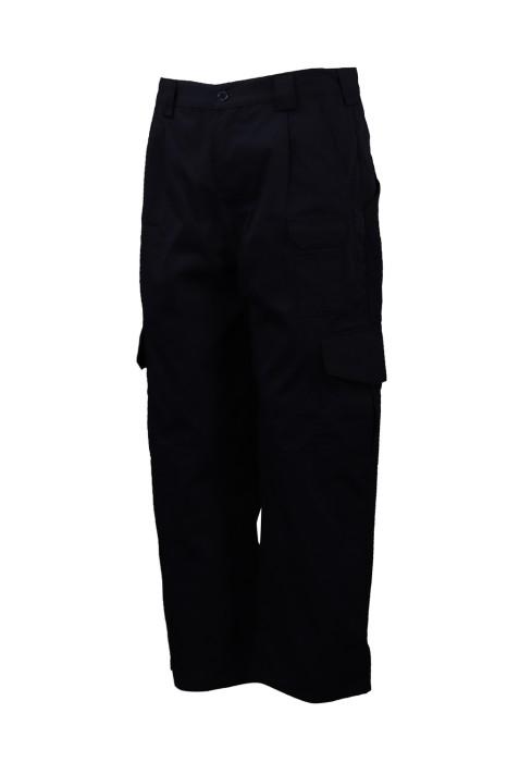 H232 訂購多袋款工作斜褲 脾袋褲 TC珠帆格  Mido 斜褲製衣廠