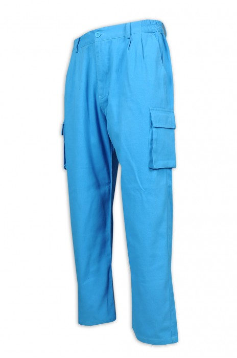 H236 製作多袋款工作斜褲 直腳褲款 兩邊腰位橡筋 斜褲專門店