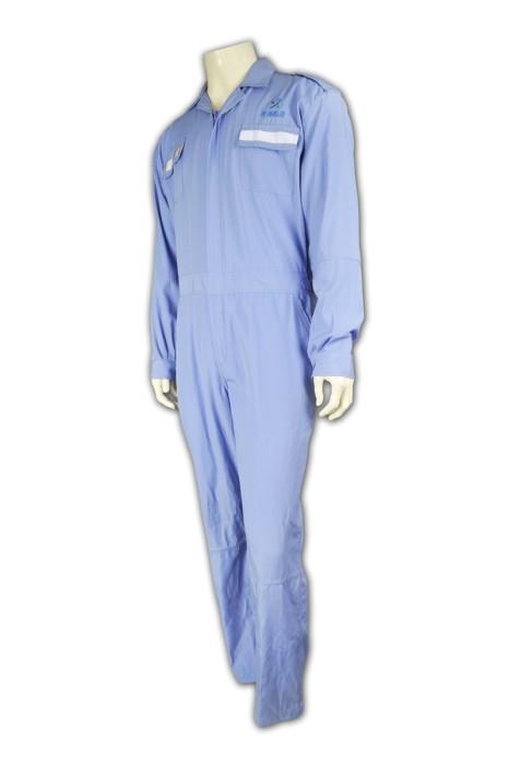 D130  量身訂造工業制服套裝  訂購員工套裝   訂製團體工業制服   連身工業制服供應商公司