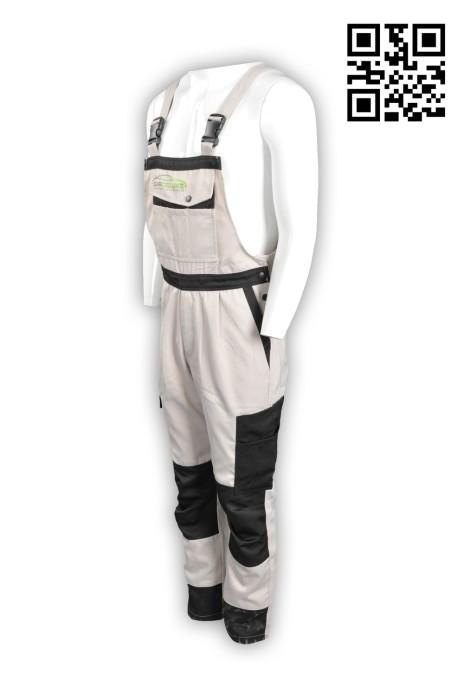 D174訂製工人制服 製造工業背帶褲 吊帶工人褲 汽車護理 吊帶褲 清潔維修行業 工業制服供應商 連身工人褲  夾乸衣 蛤乸衣 甲乸衣