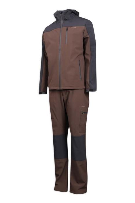 D279 訂製冬季套装工業制服 複合布工業制服專門店