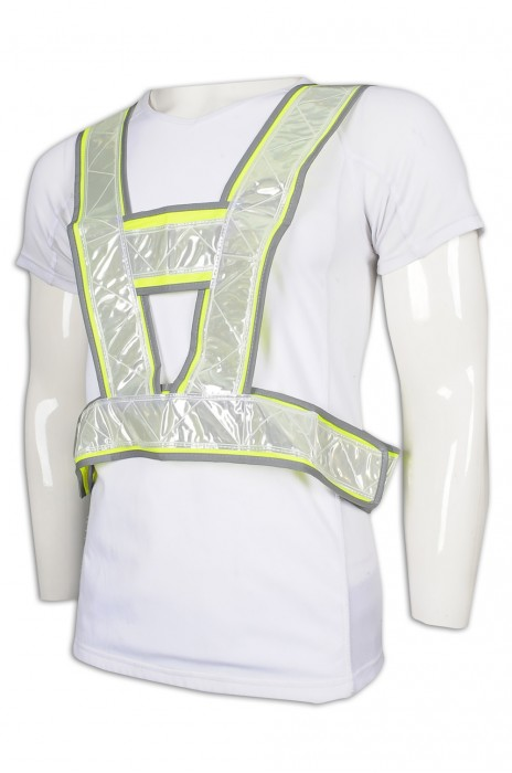 D301 訂做倒三角工業背心 反光背心 工業制服供應商