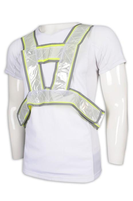 D302 設計倒三角工業制服背心 反光 背心 工業制服製造商
