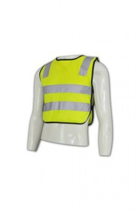 D119 訂做反光戶外背心 職業螢光制服 分隊背心  團體螢光制服製造商hk
