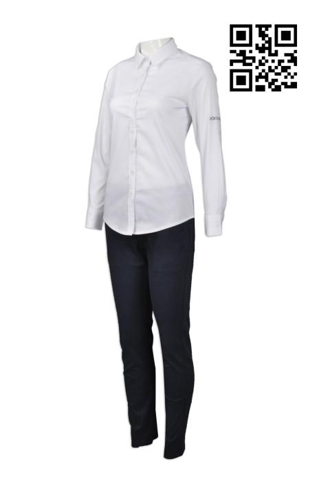UN163 設計護膚品行業制服  來樣訂造公司制服  訂購公司制服套裝  公司製服專營