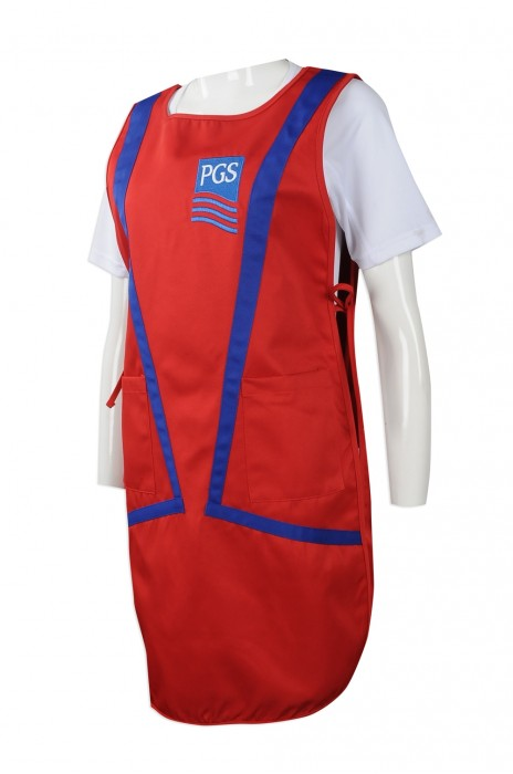 AP115 團體訂做圍裙款式 訂造全身圍裙款式 新加坡 anchormarine 製作全身圍裙批發商