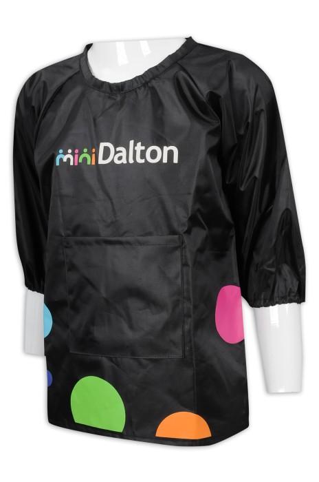 AP141 訂購印花兒童圍裙 繪畫 畫室 圍裙專門店