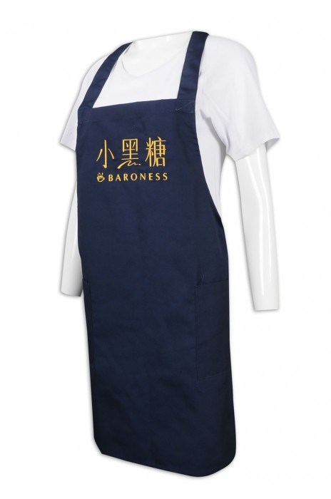 AP145 訂製淨色全身圍裙 餐飲制服 圍裙生產商