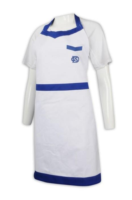 AP144 訂造撞色圍裙 圍裙專門店