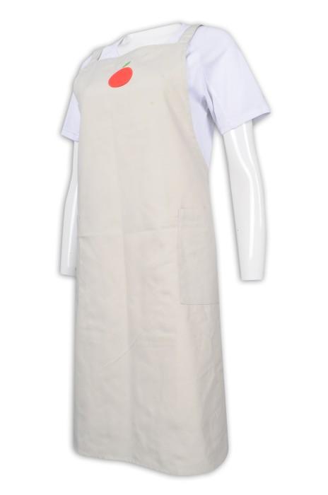 AP151 訂做繡花logo全身圍裙 員工專用圍裙  圍裙供應商