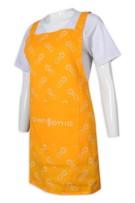 AP156 來辦訂做圍裙 筆插袋 logo 全件印花 圍裙生產商