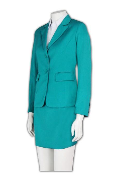 BSW245 訂造團體西服套裝 裙款套裝 行政上班套裝 OL西裝款式選擇 女士西服套裝訂購