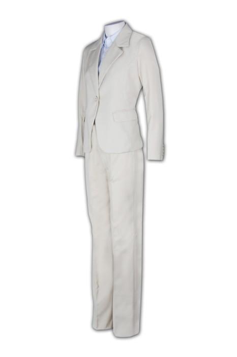 BSW244 自製西裝款式 長褲套裝西服 上班套裝 套裝來版訂製 套裝製造商