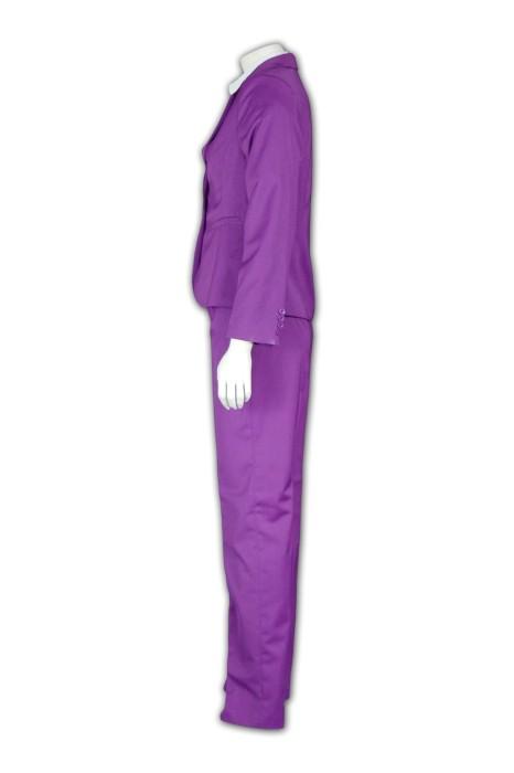 BSW243 女士褲款套裝 度身訂製 活動亮色套裝西服 西裝專門店